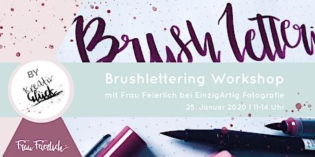 Brushlettering Workshop Tickets