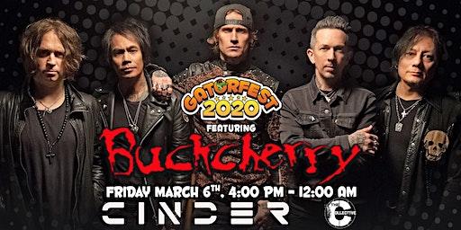 Buckcherry ROCKS CAPE CORAL FL - March 6th @ Gator Fest 2020