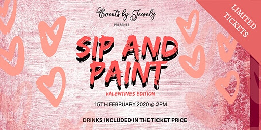 Sip and Paint Valentines Edition
