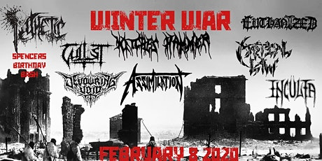 WINTER WAR:WITCHES HAMMER,ASSIMILATION,PATHETIC,EUTHANIZED,&GUESTS tickets