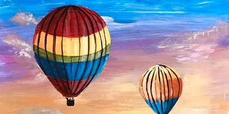 Paint Night! Hot Air Balloon Sunset tickets