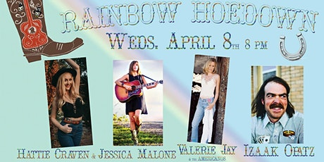 Jessica Malone & Hattie Craven, Izaak Opatz, & Valerie Jay & The Americanos tickets