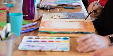 Visual Journaling: Self-Discovery through Creative Play, April 4-25 tickets