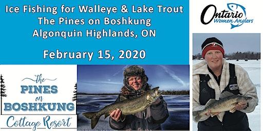 Ice Fishing on Boshkung Lake ~ February 15