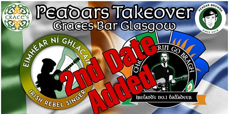 Peadars Takeover @Graces(part 2) tickets
