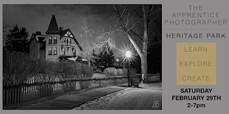 The Apprentice Photographer:  Heritage Park tickets