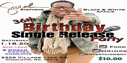 SARAH's 36th Birthday & Single Release Party