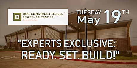 Experts Exclusive: Ready. Set. Build! tickets