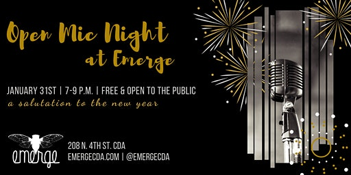 Poetry Open Mic at Emerge