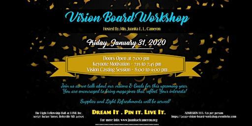 2020 Vision Board Workshop :: Ready Set Go