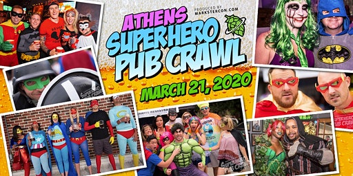 SuperHero Pub Crawl (Athens, GA)