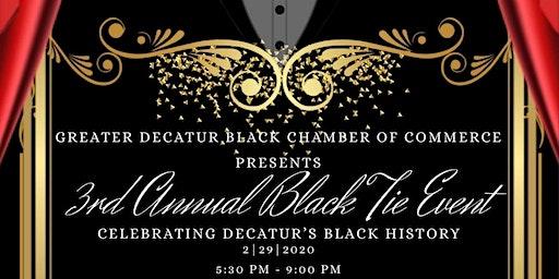 "3rd Annual Black Tie Event ""Celebrating Decatur's Black History"""