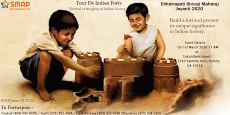 Tour De Indian Forts tickets