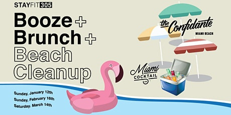 Booze + Brunch + Beach Cleanup with STAY FIT 305 tickets