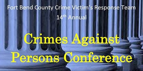 2020 Crimes Against Persons Conference tickets