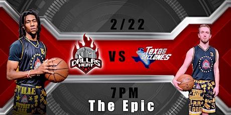 Dallas Heat vs Texas Cyclones tickets