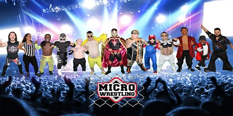 All-New 18 & Up Micro Wrestling at Cahoots! billets