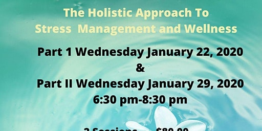 The Holistic Approach to Stress Management and Wellness (Part 1)