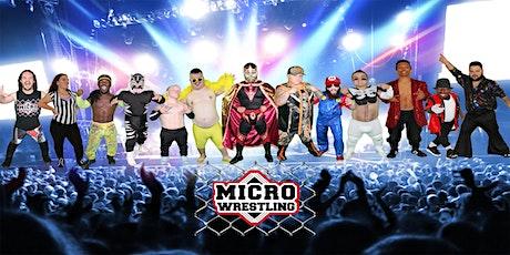 21 & Up Micro Wrestling at Stats Sports Bar! billets