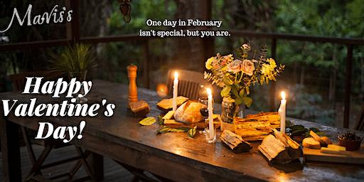 Valentines Day at Mavis's kitchen 2020