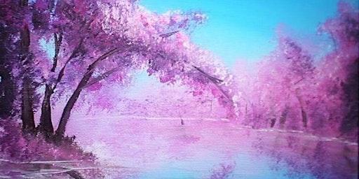 Lovers Lake Oil Painting