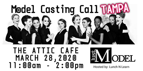 Just Model: Model Casting Call - Tampa billets