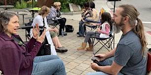 Sidewalk Talk at the Wild & Scenic Film Festival - SAEL Location