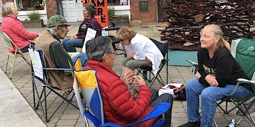 Sidewalk Talk at the Wild & Scenic Film Festival - York Street
