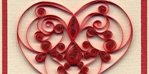 Senior Circle Valentine's CRAFTERNOON project
