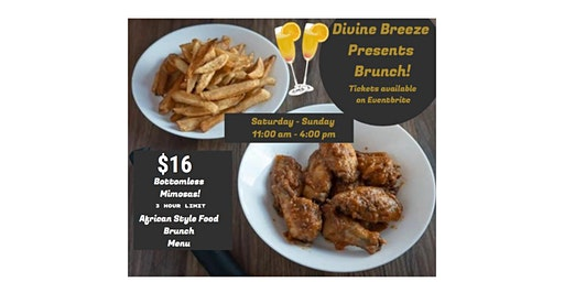 Bottomless Mimosa and Brunch At Divine Breeze