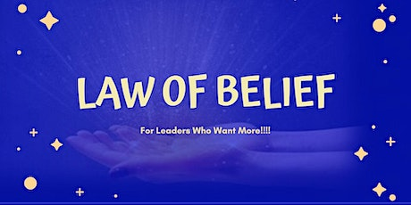 Law of Belief Consciously Masterclass tickets