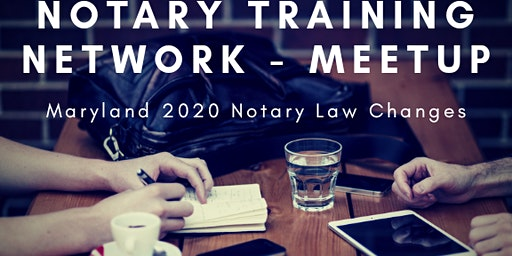 Eastern Shore Maryland Notary Meetup - location TBD