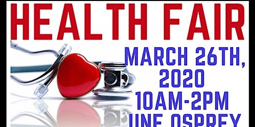Health Awareness Fair - FREE FOOD