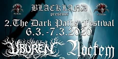 2. Dark Paths Festival Early Bird bis 31.12.