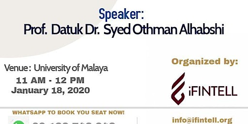iFINTELL Seminar on Hadith of peace: in preparation towards the real world