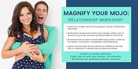 MAGNIFY your MOJO tickets