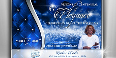 Evening of Elegance: Celebrating 10 years at the TOP of Mississippi (Special Guest Valerie Hollingsworth-Baker) tickets