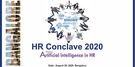 HR Conclave 2020 on Artificial Intelligence in HR tickets