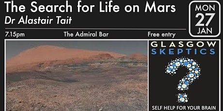 The Search For Life On Mars tickets