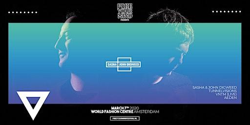 Sasha & John Digweed x World Fashion Centre Amsterdam