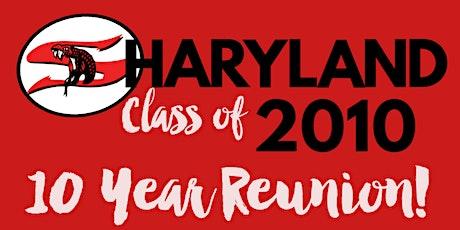 Sharyland 2010 - 10 Year Reunion tickets
