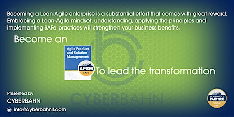 Agile Product and Solution Management (APSM)-5.0 tickets