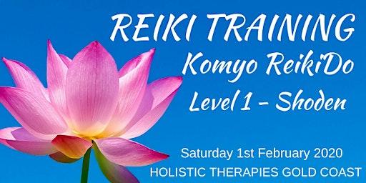 KOMYO REIKIDO Method, Level 1 - SHODEN