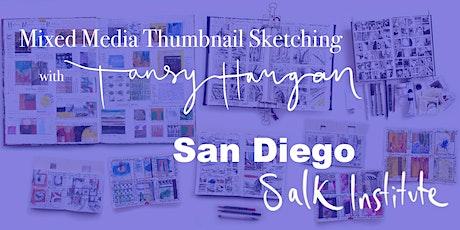 Mixed Media Thumbnail Sketching workshop tickets