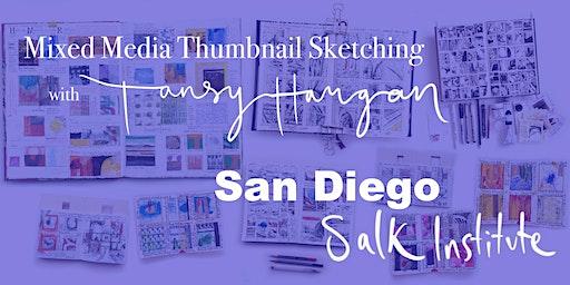 Mixed Media Thumbnail Sketching workshop