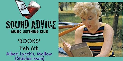 Sound Advice #37 - 'Books'
