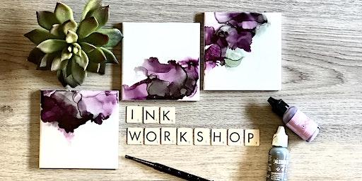 Ink Coasters