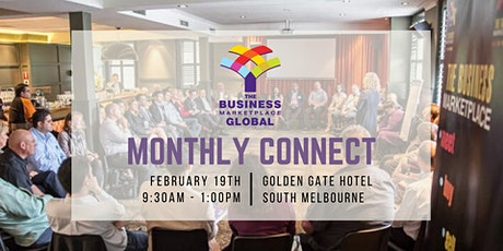 The Business Marketplace Monthly Connect - February tickets
