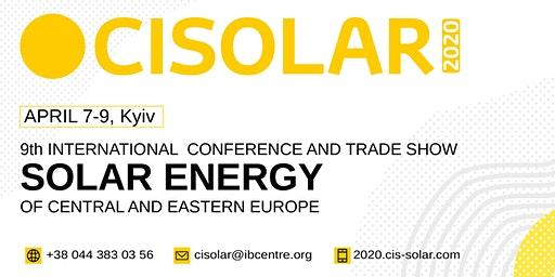 CISOLAR 2020, 9th Solar Energy Conference