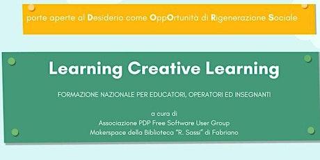 Learning Creative Learning biglietti